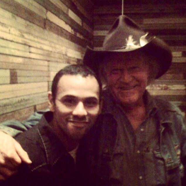 Jose Chepo Castelan with Billy Joe Shaver