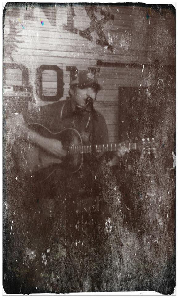Scott H Biram tintype