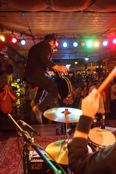 The Georges rockabilly jump