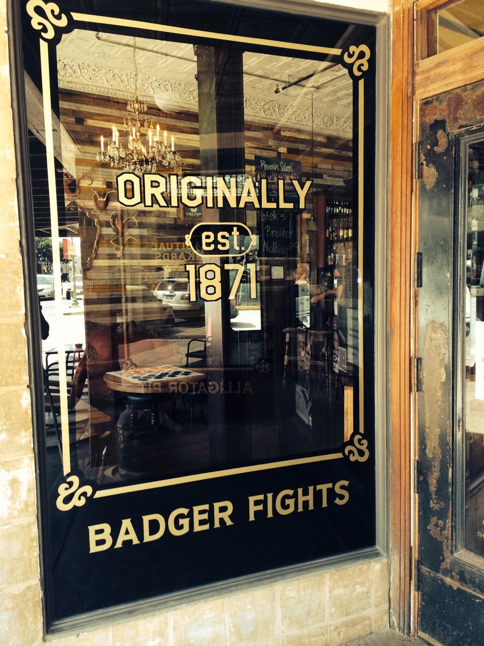 Badger Fights