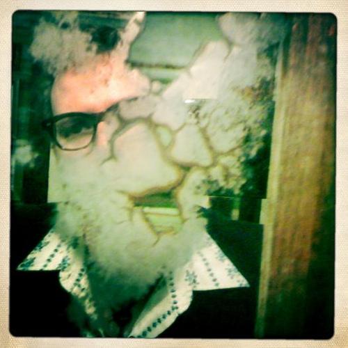 Drew Kennedy selfie in restroom mirror