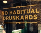 No Habitual Drunkards