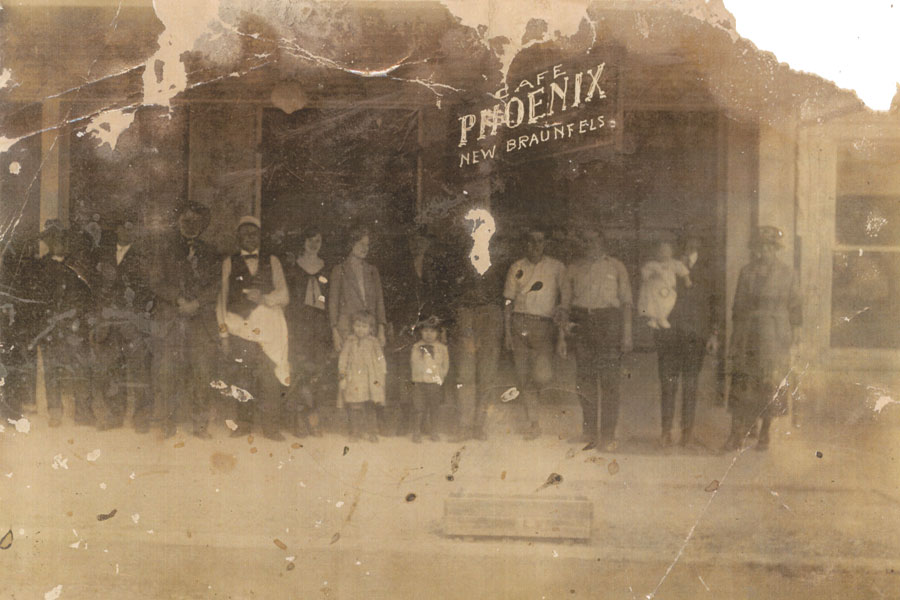 Cafe Phoenix (rear of saloon) 1890s