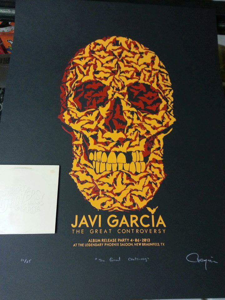 Javi Garcia release party