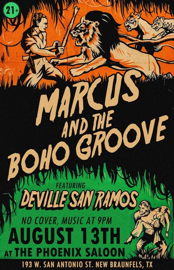 Marcus Aug 13 Flyer